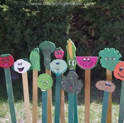 24 DIY Garden Plant Markers, Plant Label Ideas | Garden Plant Markers,  Plant Labels And Plant Markers