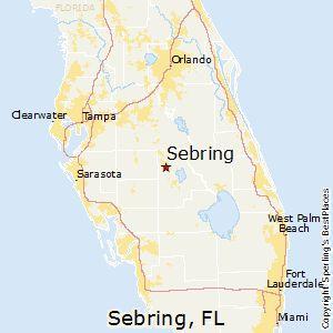 Sebring Florida Map Sebring,Florida Map | Sebring in 2019 | Sebring florida, Florida