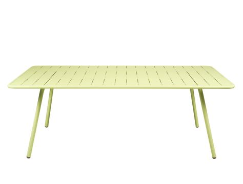 Table 207x100 cm Luxembourg, table de jardin, table jardin 8 ...