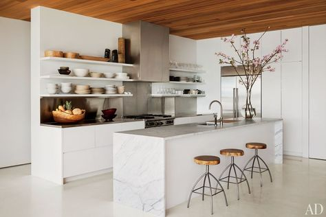 sleek, minimalist kitchen