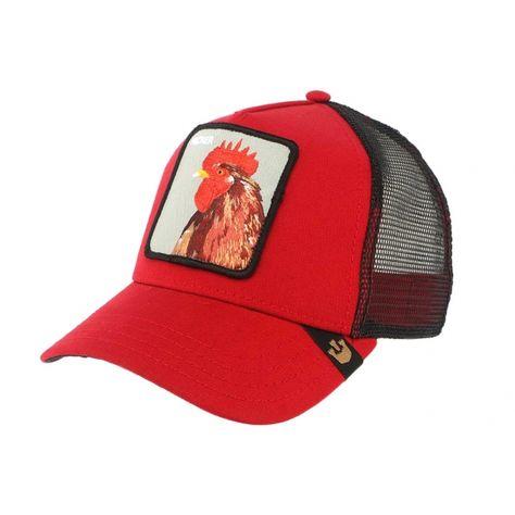 Goorin Bros Casquette Baseball Vert et Rouge