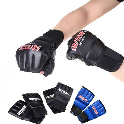 Mma Muay Thai Fight Boxing Gloves Mitt Boxer Men Box Muay Thai Training Punching Sparring Fighting Gloves. #Muay #Thai #Fight #Boxing #Gloves #Mitt #Boxer #Training #Punching #Sparring #Fighting