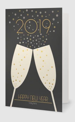 New Year Holiday Cards Templates Designs Vistaprint Custom Holiday Card Holiday Card Template Folded Holiday Cards
