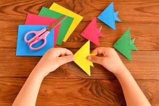 صور مطويات 2021 اشكال مطويات بالورق الملون Fish Paper Craft Paper Crafts Origami Paper Crafts