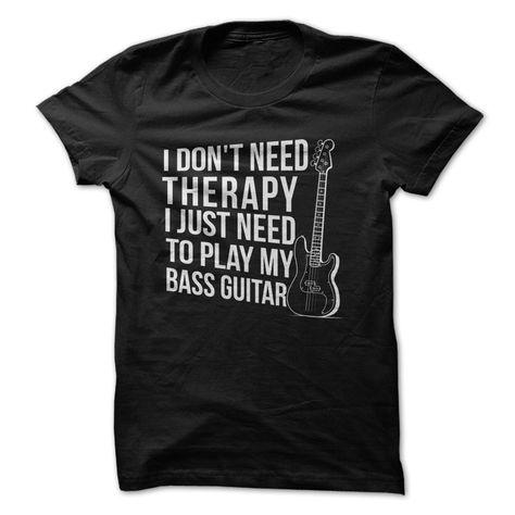 Kids BASS PICKUPS Bassist Guitar Guitarist Band Novelty Unisex Music T-Shirt