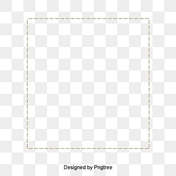 Hand Painted Frame Border Ted Line Border Square Frame Line Picture Frame Png Transparent Clipart Image And Psd File For Free Download Hand Painted Frames Frame Border Design Frame Clipart