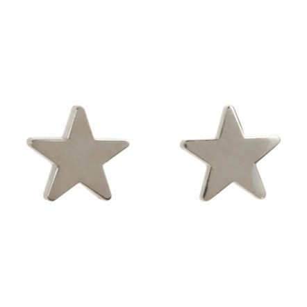 Jennifer Meyer White Gold Star Stud Earrings At Barneys