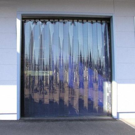 Pvc Strip Doors Are Often Used At Loading Docks To Prevent The
