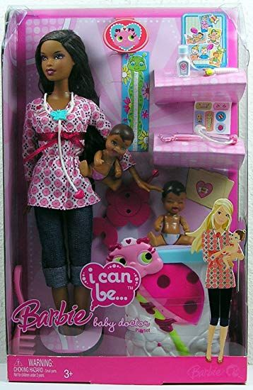 Barbie I Can Be Baby Doctor Playset M0402 With Images