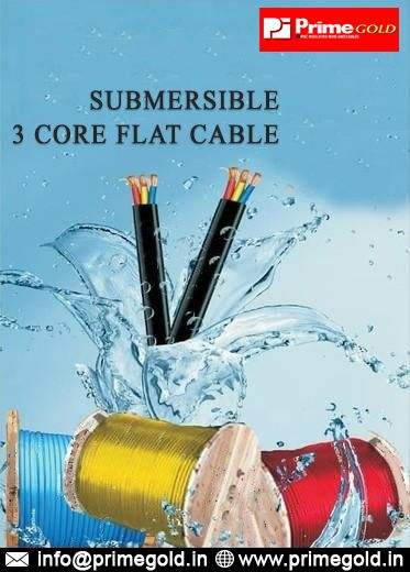 Three Core Flat Cable Suppliers In Delhi Primegold Industries In 2020 Energy Forms Best Insulation House Wiring