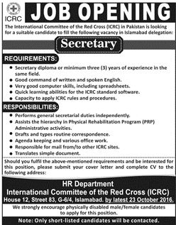 International Committee Of The Red Cross Jobs Icrc Peshawar