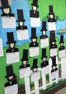 Life in First Grade: Presidents' Day
