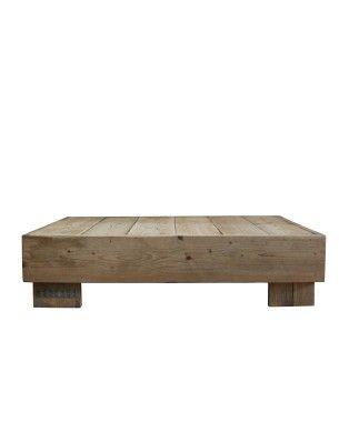 mesa saln fabricada en madera de andamio usada medidas l