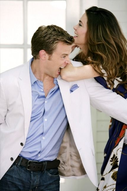 Billy Miller and Amelia Heinle..