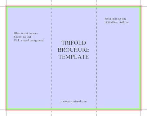 InDesign tri fold brochure template free – Tri Fold Brochure Template