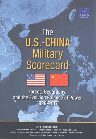 The USChina Military Scorecard Forces Geography And The - Evolving map of us