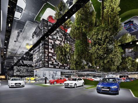 Audi's Hanging City by KMS Blackspace - News - Frameweb
