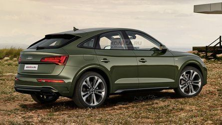 2021 Audi Q5 Sportback Adds Style Loses Practicality In New Rendering In 2020 Audi Audi Q5 Suv Models