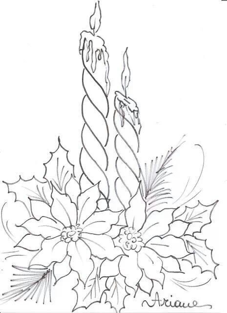 Poinsettia Coloring Page S S Media Cache Ak0 Pinimg Originals 0d