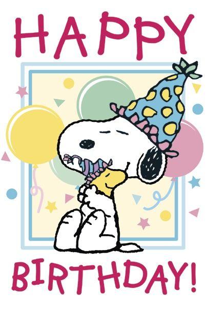 Peanuts Postkarte Gluckwunsche Geburtstag Geburtstag Bilder