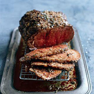 Mustard Roast Beef Recipe Yummly Recipe Roast Beef Recipes Food Beef Recipes
