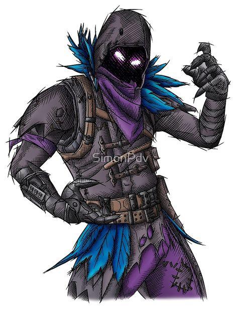 « Raven - Peau de Fortnite » par