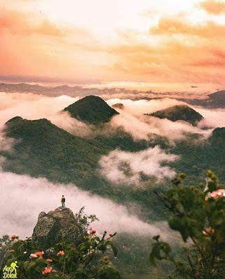 Bukit Cumbri Menikmati Negeri Di Atas Awan Ala Wonogiri Wisata Asia Pemandangan Foto Alam