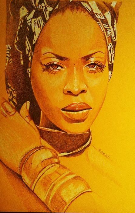 Erykah Badu by Desmond Manuel