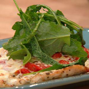 Chicken Paillard Pizzette Style #whatsfordinner #chicken
