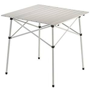 Coleman Outdoor Compact Table Compact Folding Design Lightweight