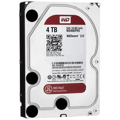 The 100 Wd Red 4tb Internal Drive Would Be Perfect For Your New Media Server Hard Disk Drive Pc Hard Drive Disk Drive