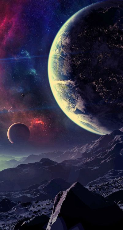 Planets Tumblr Space Art Planets Wallpaper Wallpaper Space