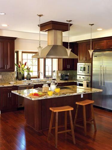 133 Best Hawaiian Kitchens Images On Pinterest  Tropical Kitchen Amazing Kitchen Design Hawaii Design Inspiration