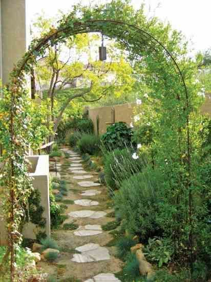 Small Garden Design Tips From Landscape Designer Shirly Bovshow Barn Shed Landscaping Bovshow Design In 2020 Side Yard Landscaping Small Garden Design Garden Design