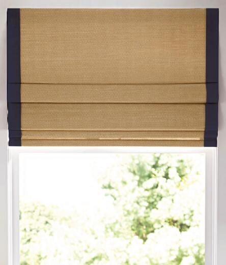 Insulated Woven Cordless Roman Shade Country Curtains Country