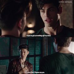 This is most Magnus thing that could have been said during this scene.
