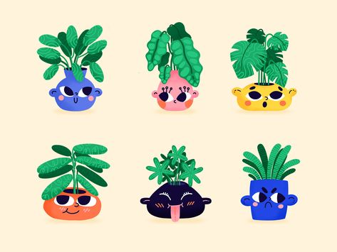 Plant Friends Sticker Pack