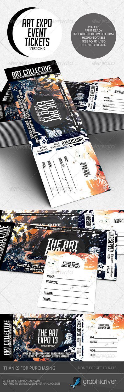 Art Expo Art Show Event Tickets & Passes V.2