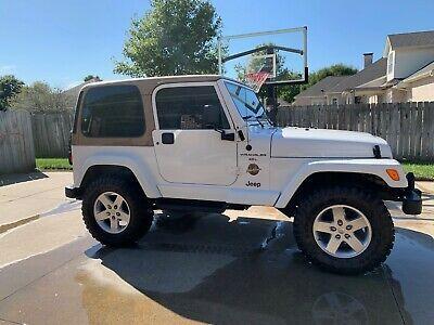 Ebay Advertisement 1998 Jeep Wrangler 1998 Jeep Wrangler Sahara