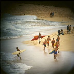 An iconic shot by LeRoy Grannis. In 1964, he co-founded International Surfing Magazine, now known as Surfing Magazine