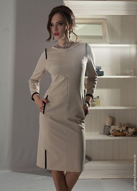 3daa722c014 Платья ручной работы. Платье Trattino. Strygina (Strygina). Ярмарка  Мастеров. Пошив на заказ