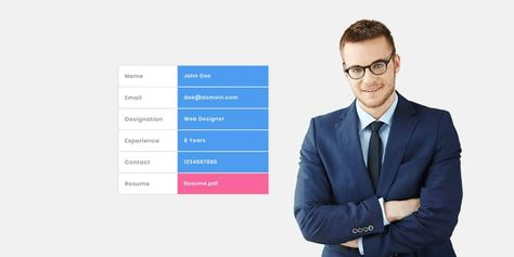 WebRes – Personal Resume Template