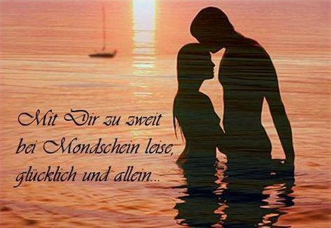 Liebes Sprüche Bilder für Facebook.