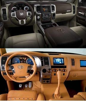 2017 Toyota Tundra Vs Dodge Ram 1500 Design Towing Capacity Specs