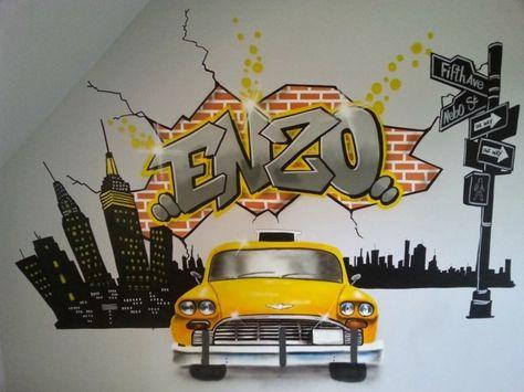 La Deco Chambre New York Ado Creative Et Amusante Archzine Fr