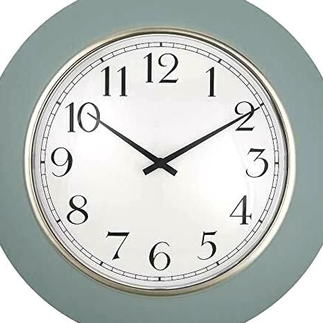 Presentime Co 12 Modern Farmhouse Kitchen Wall Clock Vintage Design Domed L Wall Clocks Ebay Link In 2020 Vintage Wall Clock Kitchen Wall Clocks Clock