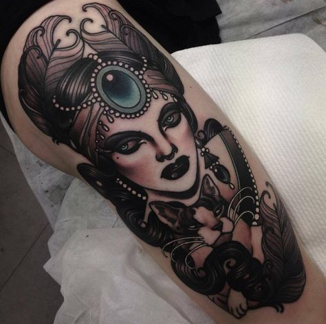 Tattoo by Emily Rose Murray