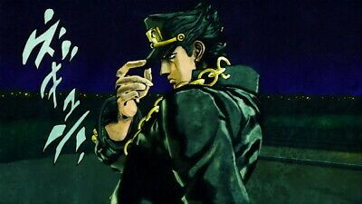 139 Jojo Bizarre Adventure Season 1 2 3 Fight Japan Anime 24 X14