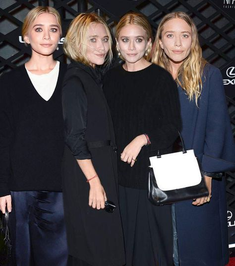 When they showed their sleek and modern side: 14 Times The Olsen Quadruplets Were The Baddest Bitches On The Block