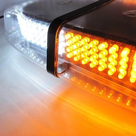 "18 LED DASH Light 20/"" Green Security Emergency Flash Bar Plow Tow Truck 54 Watts"